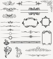 Ornamente Design Hintergrund vektor