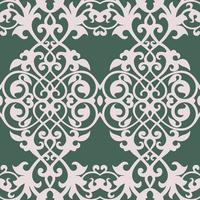 königliche barocke Mustervektorkunst vektor