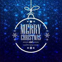 Modern god jul bakgrund vektor