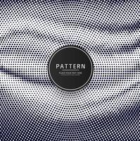 Modern halvton prickar mönster design