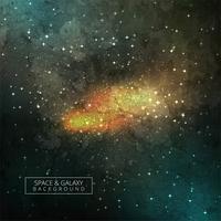 Kosmischer Galaxie-Hintergrund mit Nebelfleck, Stardust und hellem Shinin vektor