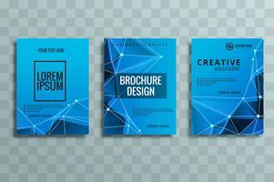 moderne Business-Broschüre festgelegt vektor