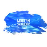 moderne Aquarell Strich Hintergrund vektor