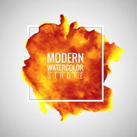 moderner Aquarell Hintergrund vektor