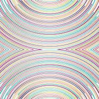 Schöne bunte Linien Hintergrund Illustration