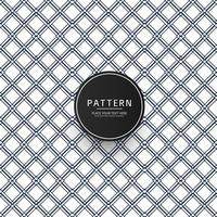 Abstrakt geometriskt sömlöst mönster med korsning av tunna linjer vektor