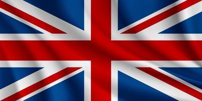 Flagge des Vereinigten Königreichs vektor