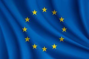 Flagge der Europäischen Union vektor