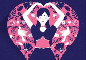 Frieden und Liebe Illustration Vol 2 Vektor