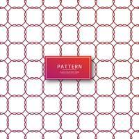 Roter Hintergrund des abstrakten geometrischen Musters