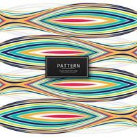 Moderne bunte Linien Muster Hintergrund Illustration