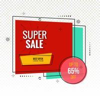 Modern super försäljning färgglad bakgrund vektor