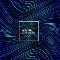 Abstrakte blaue Zeilen glänzende Hintergrundillustration vektor
