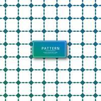 Abstrakter geometrischer Mustervektor