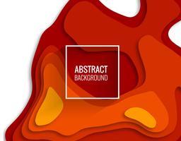 Modern pappersklippning färgstark bakgrund illustration vektor