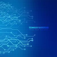 Vektor Hintergrund abstrakte Technologie Kommunikationskonzept.