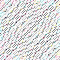 Abstrakt trekant färgrik mönster bakgrund vektor