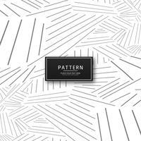 Abstrakte geometrische Graulinien Musterdesign vektor