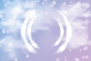 heller Farbhintergrund des Wolkenbokeh vektor