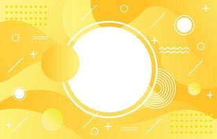abstrakter gelber Hintergrund vektor