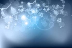 abstrakter glänzender Neonsternhintergrund vektor