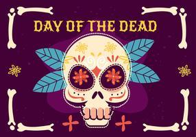 Tag der Toten vektor