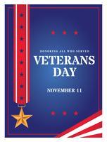 Veterans dagaffisch