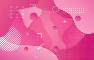 rosa fließen Hintergrund vektor