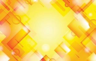 gelbe abstrakte Hintergrundschablone vektor