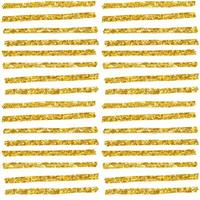 handgezeichnetes nahtloses Goldglitzermuster. Pinsel strockes nahtloses Muster, Vektorillustration vektor