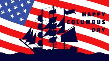 Funky Christopher Columbus Vektoren
