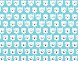 nahtloses Muster der glücklichen Kitty vektor