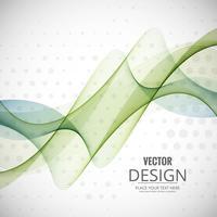 Wellenhintergrund-Illustrationsvektor des abstrakten Geschäfts eleganter