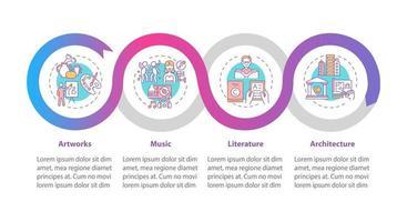 urheberrechtlich geschützte Werke Vektor Infografik Vorlage