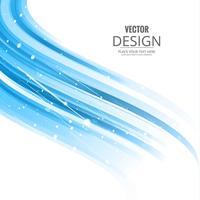 Wellenhintergrund-Illustrationsvektor des abstrakten Geschäfts eleganter vektor