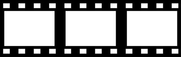 35mm Filmrollenrahmen vektor