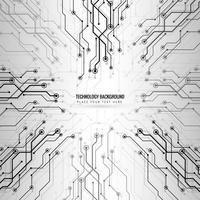 Abstrakte Technologiehintergrund-Designillustration vektor