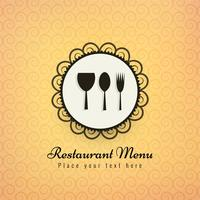 Restaurang ikoner färgstark bakgrund vektor illustration