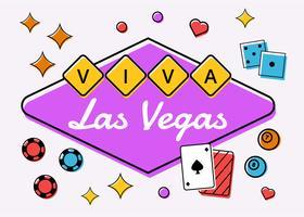 Viva Las Vegas Compotiation Vektor
