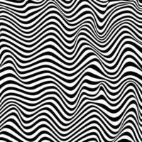 Wellenförmiger Hintergrundmusterzebratexturvektor vektor