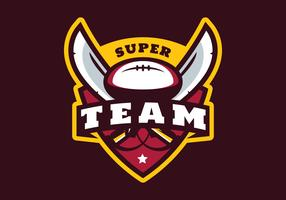Fotboll Super Team vektor