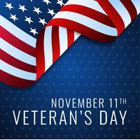 USA Veterans Day Design Mall vektor