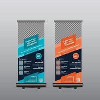 Konferenz-Rollup-Banner vektor