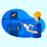 Fabrik Arbeiter vektor