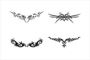 Stammes-Tattoo-Vektor eps 10 vektor