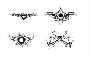 Stammes-Tattoo-Vektor vektor