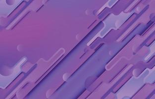futuristischer und einfallsreicher lila Hintergrund im lila Stil vektor