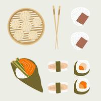 Asiatisches Essen vektor