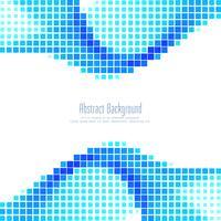Abstrakter blauer Mosaikhintergrund vektor