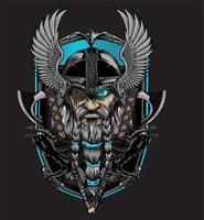 Odin Gott von Asgard vektor